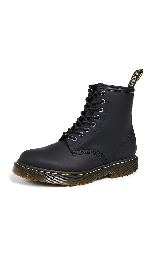 2c99f553d19 Dr. Martens Winterized 1460 8 Eye Boots In Black Snowplow | ModeSens