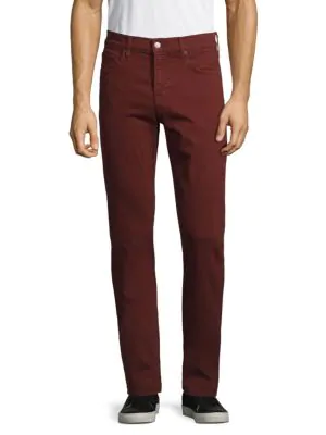 7 For All Mankind Classic Slim-fit Jeans In Dark Flame