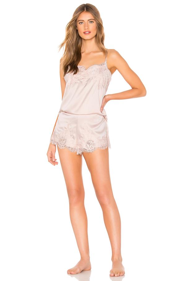 Homebodii Olivia Cami Set In Blush