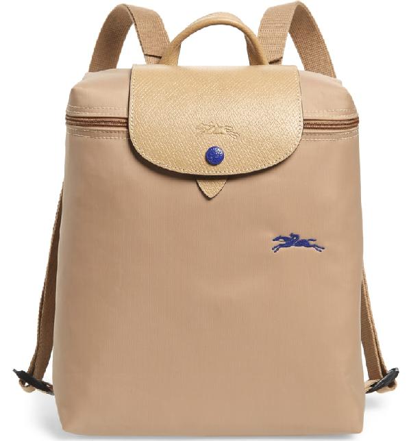 b4b91a580d Longchamp Le Pliage Club Backpack - Beige | ModeSens