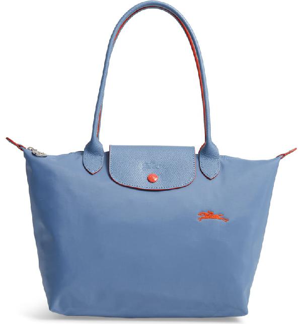 f3d432c46d Longchamp Le Pliage Club Medium Shoulder Tote - Blue In Blue Mist ...