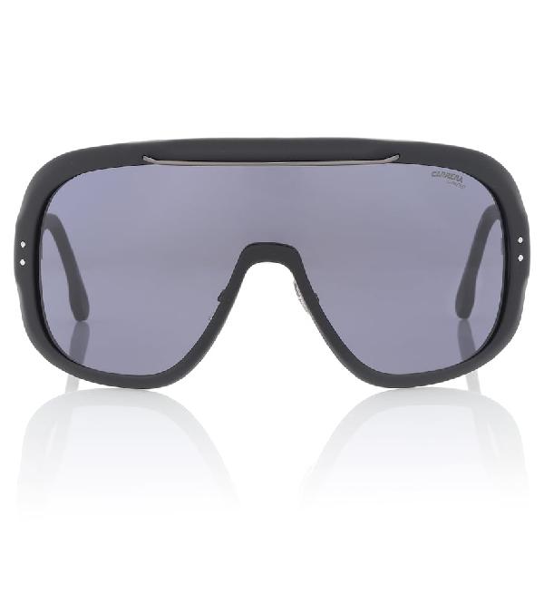 044a214a14009 Carrera 99Mm Epica Shield Sunglasses In Black