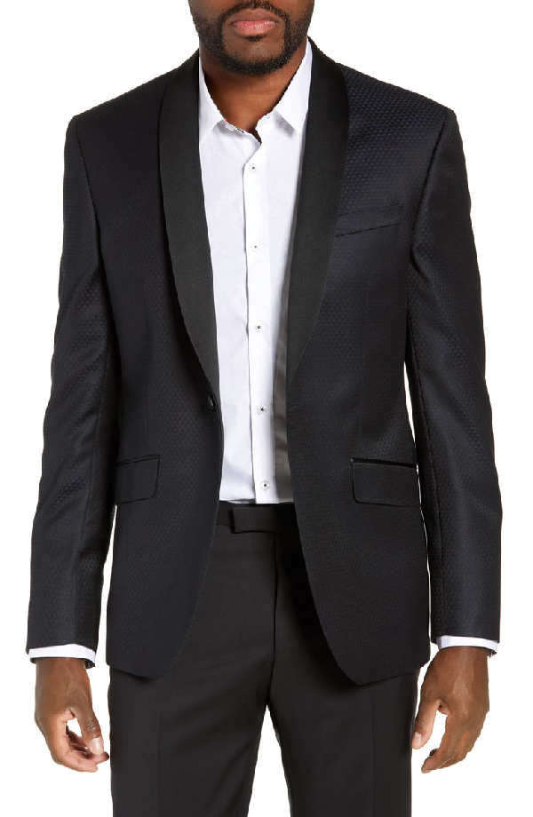 647c425bb43f84 Ted Baker Josh Trim Fit Wool Dinner Jacket In Navy | ModeSens