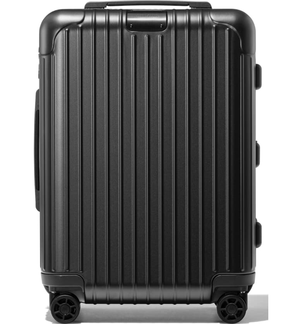 Rimowa Essential Sleeve Cabin 22-inch Wheeled Suitcase In Matte Black