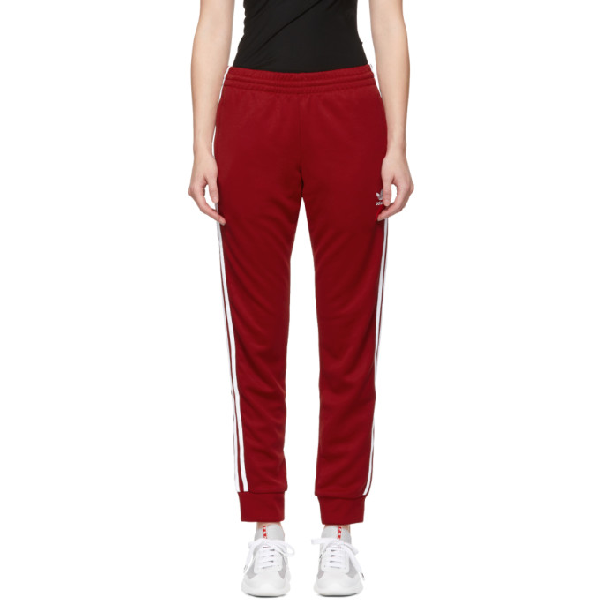 9974305a Adidas Originals Red Sst Track Pants In Power Red | ModeSens