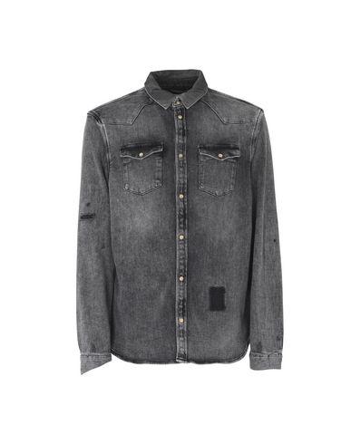 Allsaints Denim Shirt In Black