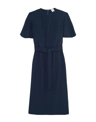 Iris & Ink Short Dress In Dark Blue