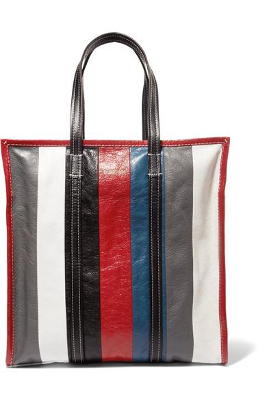 f90041e4d Balenciaga Arena Leather Bazar Medium Shopper Tote Bag In Multicoloured