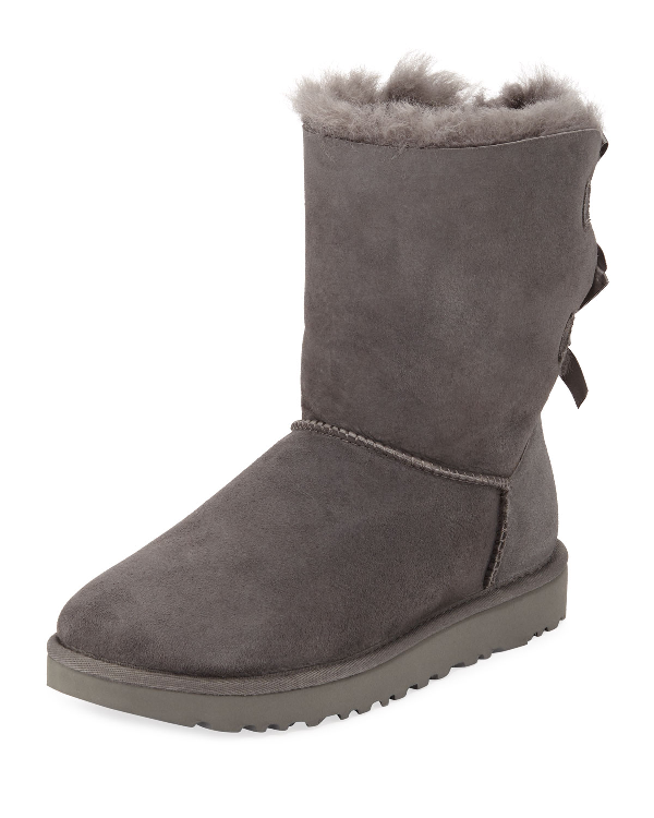 Ugg Bailey Bow Ii Boots In Gray