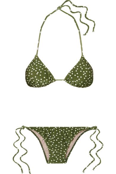 a88c600146e Mille Punti Polka-Dot Bikini