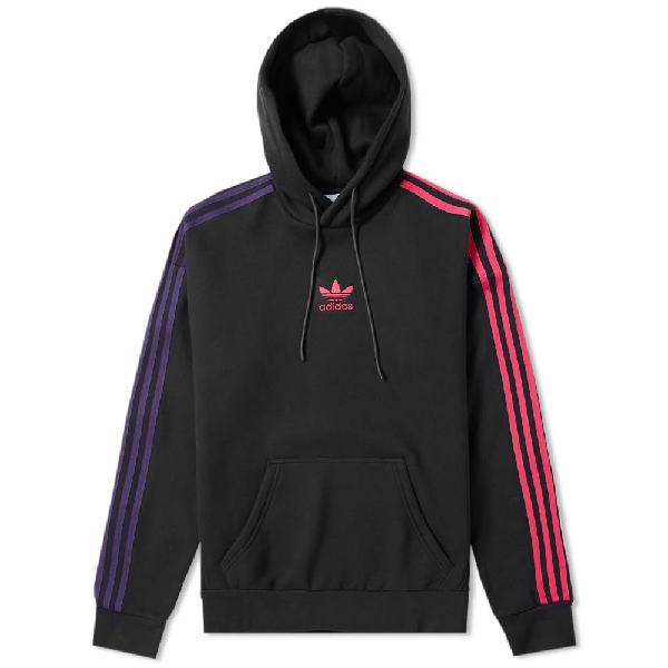 Adidas originals retro purple hoodie 3 striberDepop 3 striber Depop