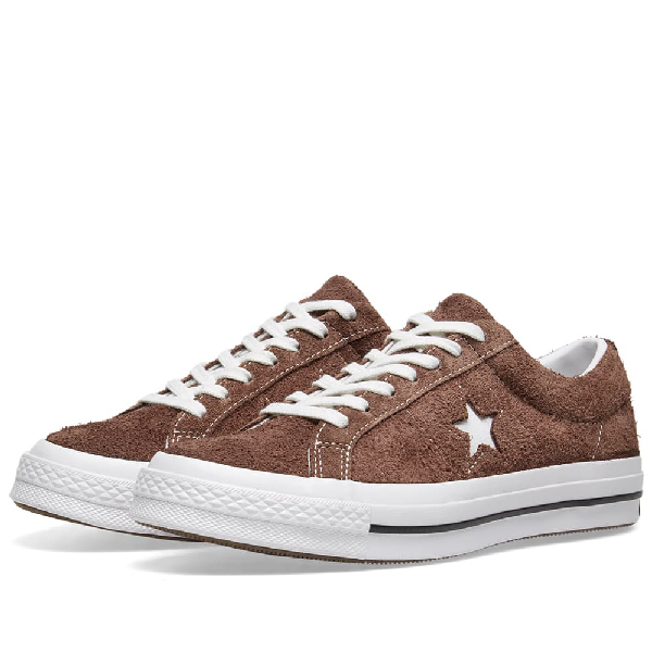 Converse One Star Ox Vintage Suede In Brown | ModeSens