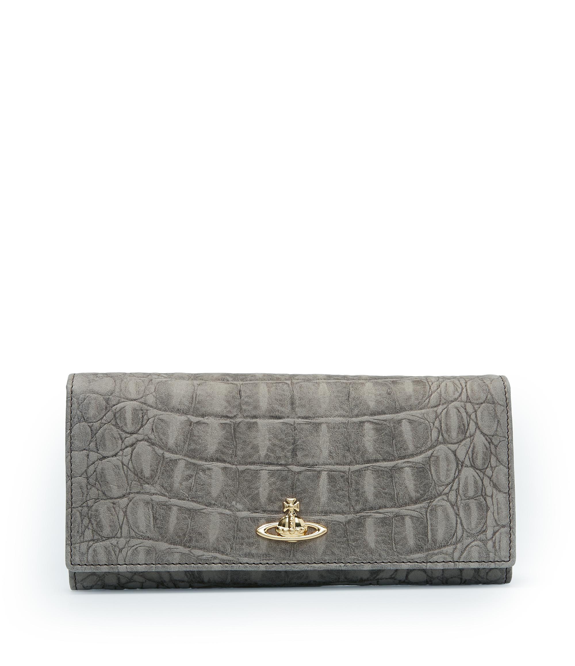 49edfe10333 Vivienne Westwood Grey Amazonia Wallet 321321   ModeSens