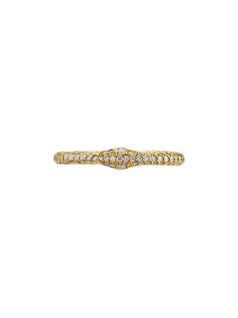 9e7af838f Gucci Ouroboros Ring In Gold And Diamonds In 8000 | ModeSens