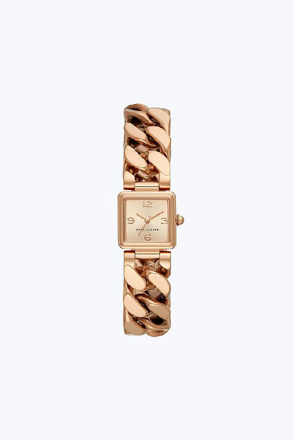 Marc Jacobs Vic Bracelet Watch, 20Mm X 20Mm In Rose Gold