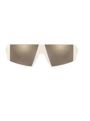 Versace 0Ve4360 136Mm Shield Sunglasses In White