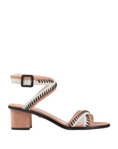 Andrea Gomez Sandals In Pale Pink