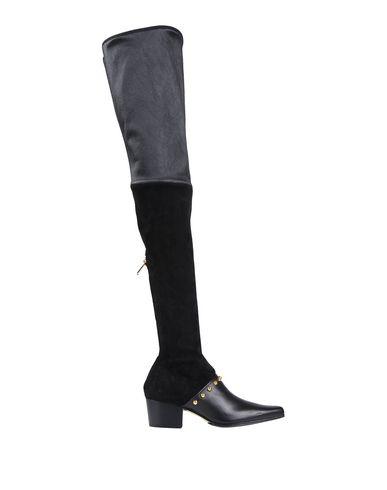 Balmain Boots In Black