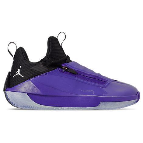 bd4e5824aba Nike Men's Air Jordan Jumpman Hustle Basketball Shoes, Blue. Finish Line