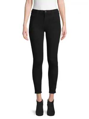 J Brand Alana High-rise Ankle Pants In Sonnet