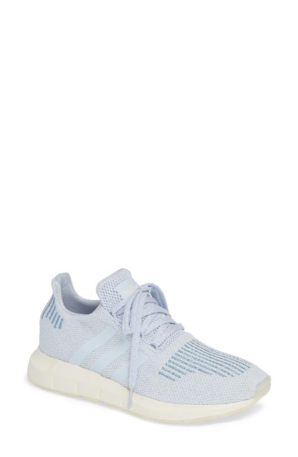 8c4aaec840baf Adidas Originals Swift Run Sneaker In Aero Blue  Off White