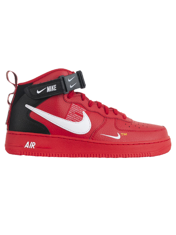 nike air force 1 rosso