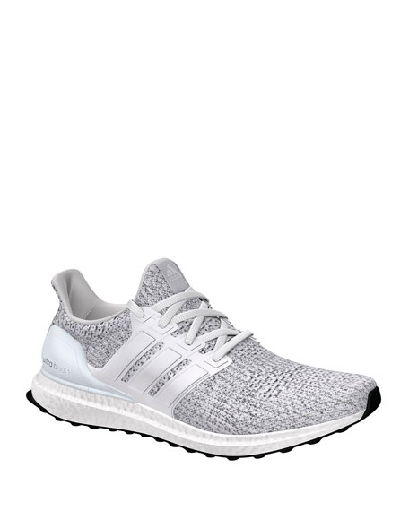 free shipping c542b 1b78d Adidas Men's Ultraboost Running Sneakers From Finish Line in Non-Dyed/Ftwr  White/Grey