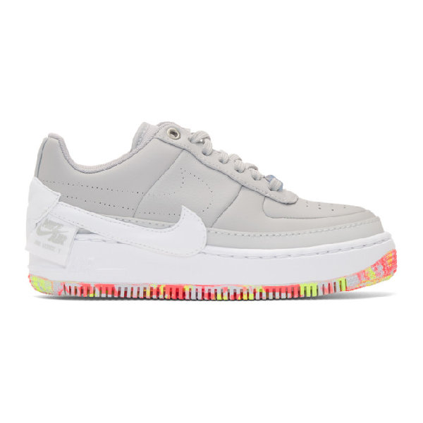 half off 190b1 e15c4 Nike Air Force 1 Jester Xx Print Sneaker In 001 Pure Pl