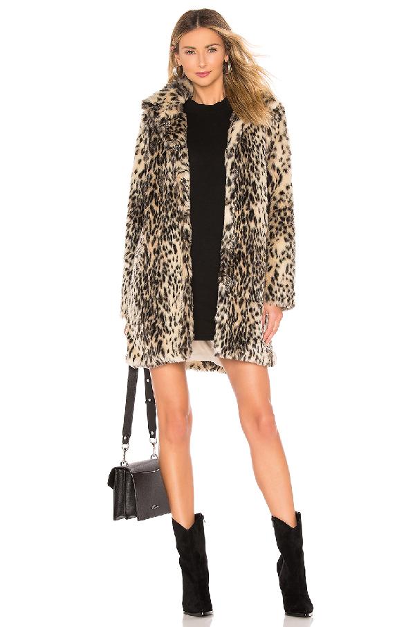 643cca924e7c9 Cupcakes And Cashmere Adamia Faux Fur Coat In Brown | ModeSens