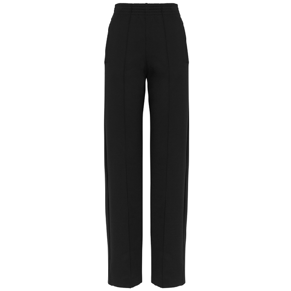 Givenchy Black Wide-Leg Jersey Trousers