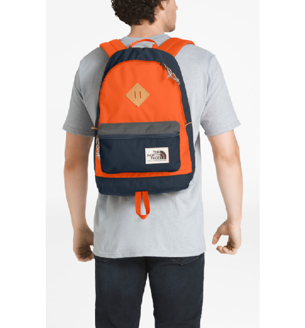 1d2c0817f Berkeley 25-Liter Backpack - Blue in Urban Navy/Persian Orange
