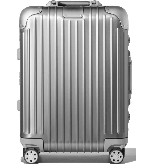 Rimowa Original Cabin Small 22-inch Wheeled Carry-on In Silver
