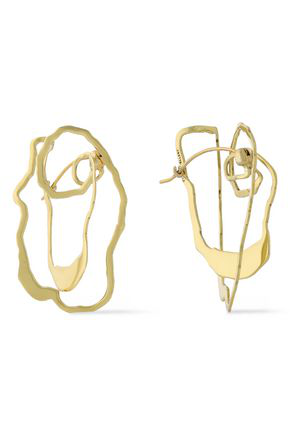 Ellery Woman Vigano Gold-Plated Earrings Gold