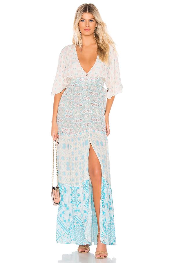 08c1f310b8c Hemant   Nandita Hemant And Nandita X Revolve Tile Maxi Dress In Blue. In  Pastel
