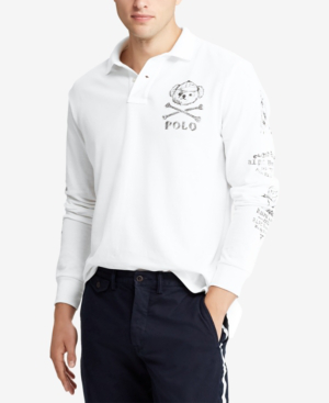 8969c3c4f Polo Ralph Lauren Men s Big   Tall Classic Fit Long-Sleeve Polo In Classic  Oxford