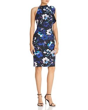 Black Halo Pabla Floral Sheath Dress - 100% Exclusive In Lagoon