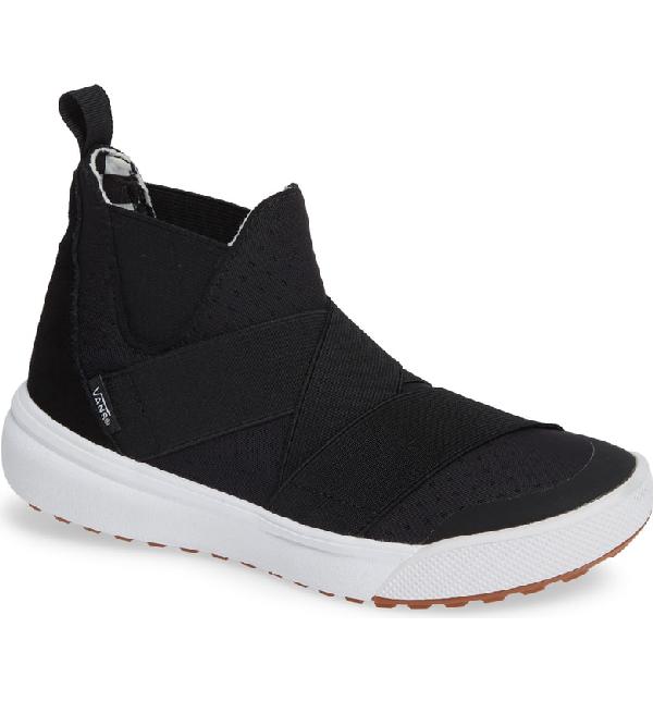 c9f211e0b9fbd5 Vans Ultrarange Gore Hi Slip-On Sneaker In Black