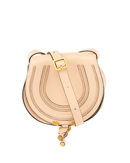 66628cdc ChloÉ Marcie Small Leather Crossbody Bag In Dark Beige | ModeSens