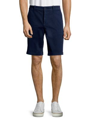 Hudson Men's Clint Chino Shorts In Navy