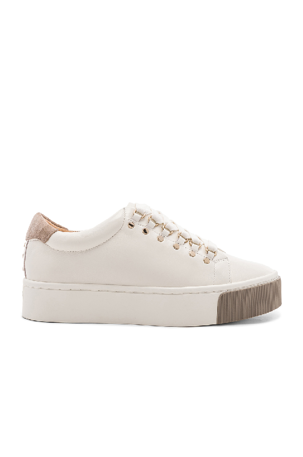 526c8c113ab7 Joie Handan Leather Platform Sneakers In White | ModeSens