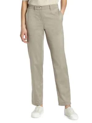 Lafayette 148 Classic Fulton Pants In Partridge