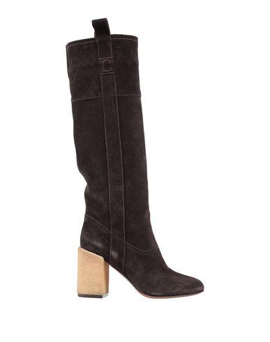 l 39 autre chose boots in dark brown modesens. Black Bedroom Furniture Sets. Home Design Ideas