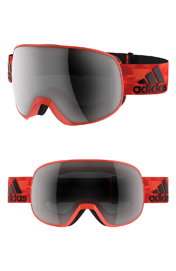 5e7c92271 ADIDAS ORIGINALS. Progressor C Mirrored Spherical Snowsports Goggles ...