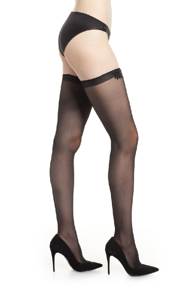 2dee6ba89 Wolford Valentina Stay-Up Stockings In Black