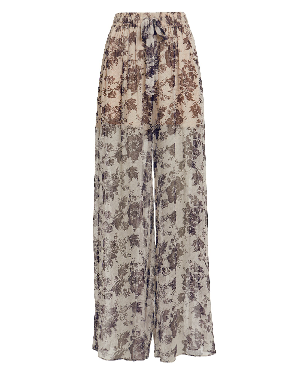 Zimmermann Juno Wide Leg Pants