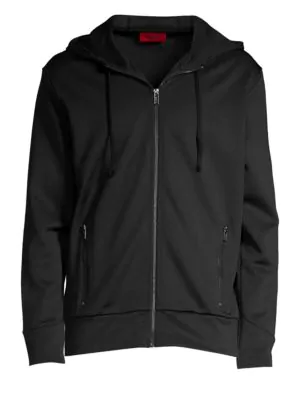 fedb90170 Hugo Doscato Zip Hoodie - 100% Exclusive In Black | ModeSens