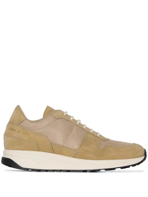 Common Projects Track Vintage Low Sneakers In Neutrals