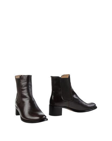 Jil Sander Ankle Boots In Dark Brown