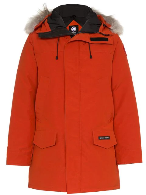 Canada Goose Langford Hooded Parka In Red