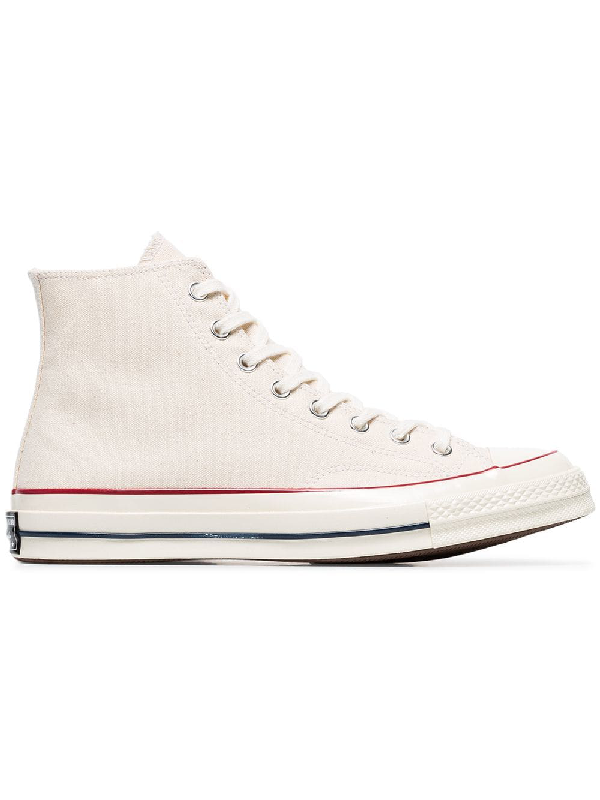 dde6ce423262 Converse White Chuck Taylor All Stars 70 Canvas High Top Sneakers ...